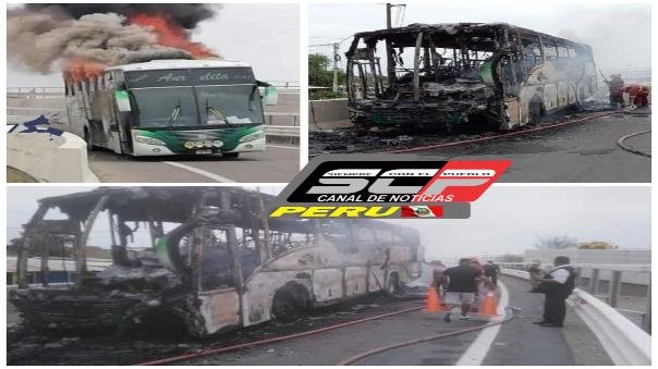 queman-bus-en-paro-nacional-de-transportistas