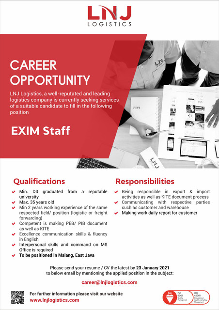 EXIM-Staff-Placement-Malang
