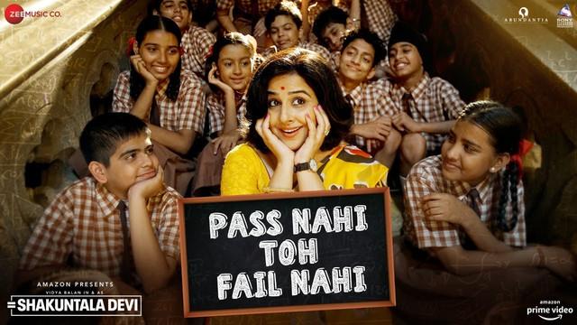Pass Nahi Toh Fail Nahi (Shakuntala Devi 2020) Hindi Movie Video Song 1080p HDRip 70 MB