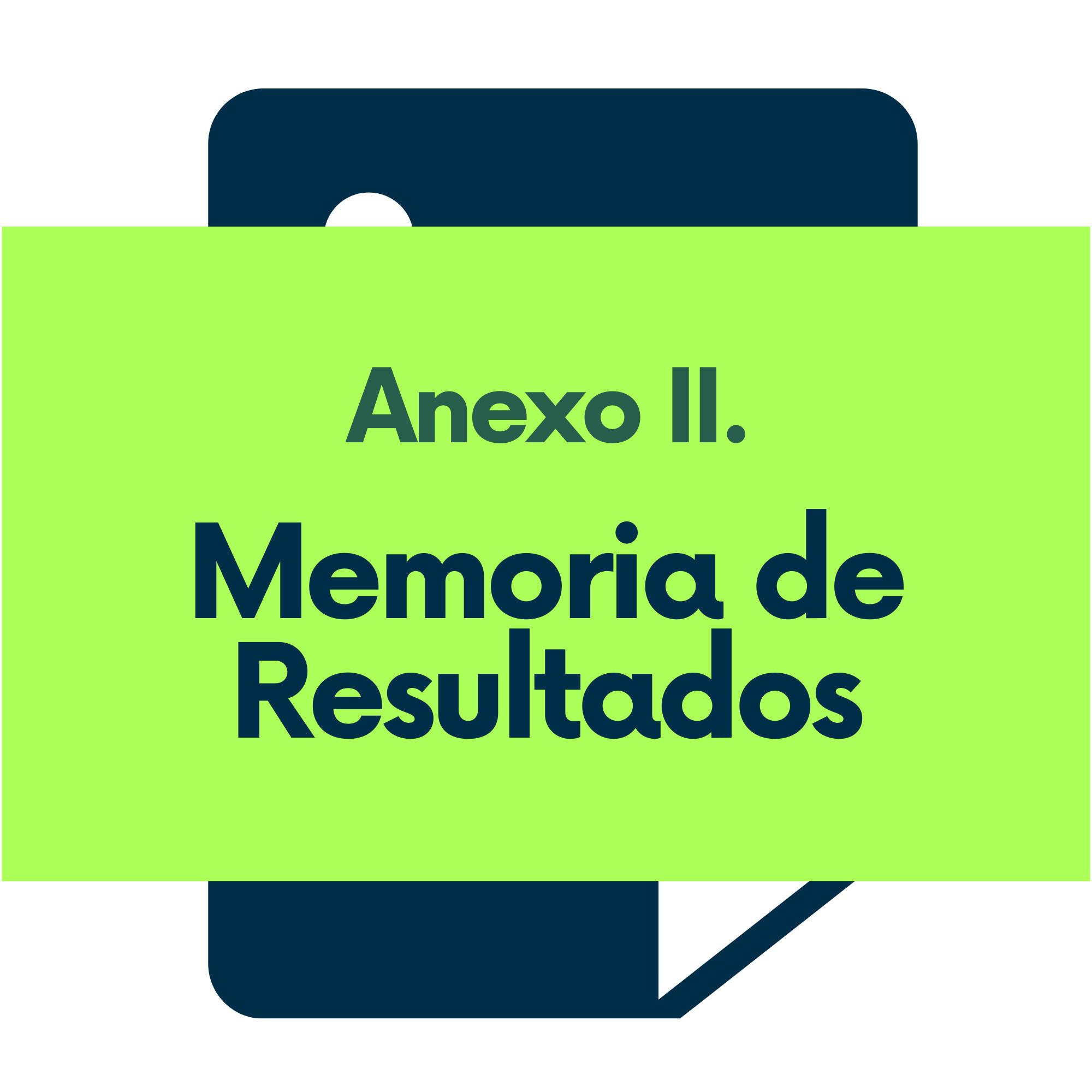Anexo II. Memoria de Resultados Proyectos de Innovación Docente Universidad de Navarra