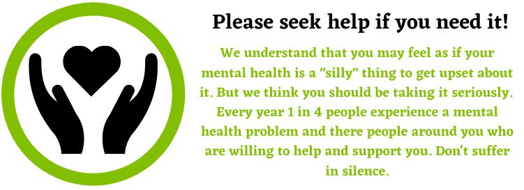 Seek help for emotional damages
