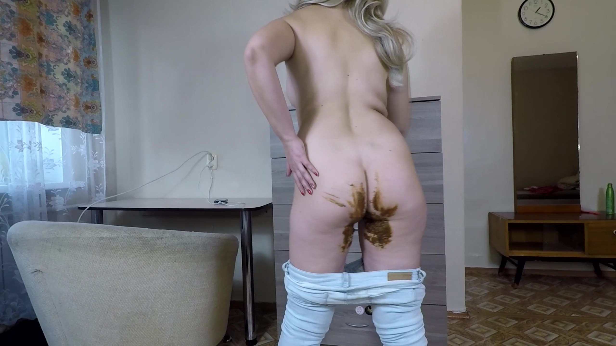 janet - Shit and Smearing in my Jeans