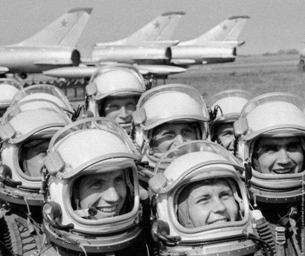 Военные лётчики, СССР, 1970 год