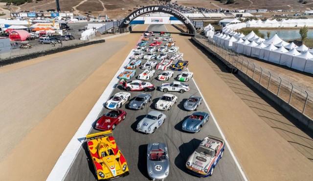 Porsche fête ses 70 ans en Amérique Rennsport-Reunion-VI