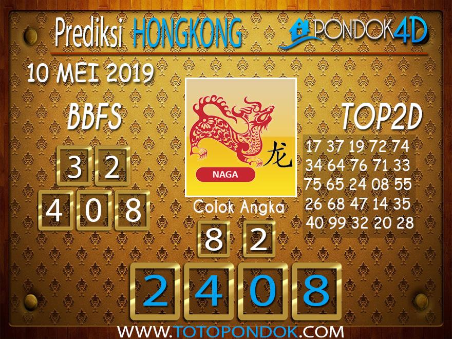 Prediksi Togel HONGKONG PONDOK4D 10 MEI 2019