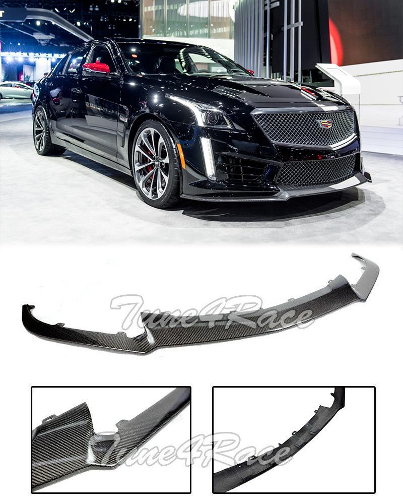 For 16-19 Cadillac CTS-V CARBON FIBER Front Bumper Lower