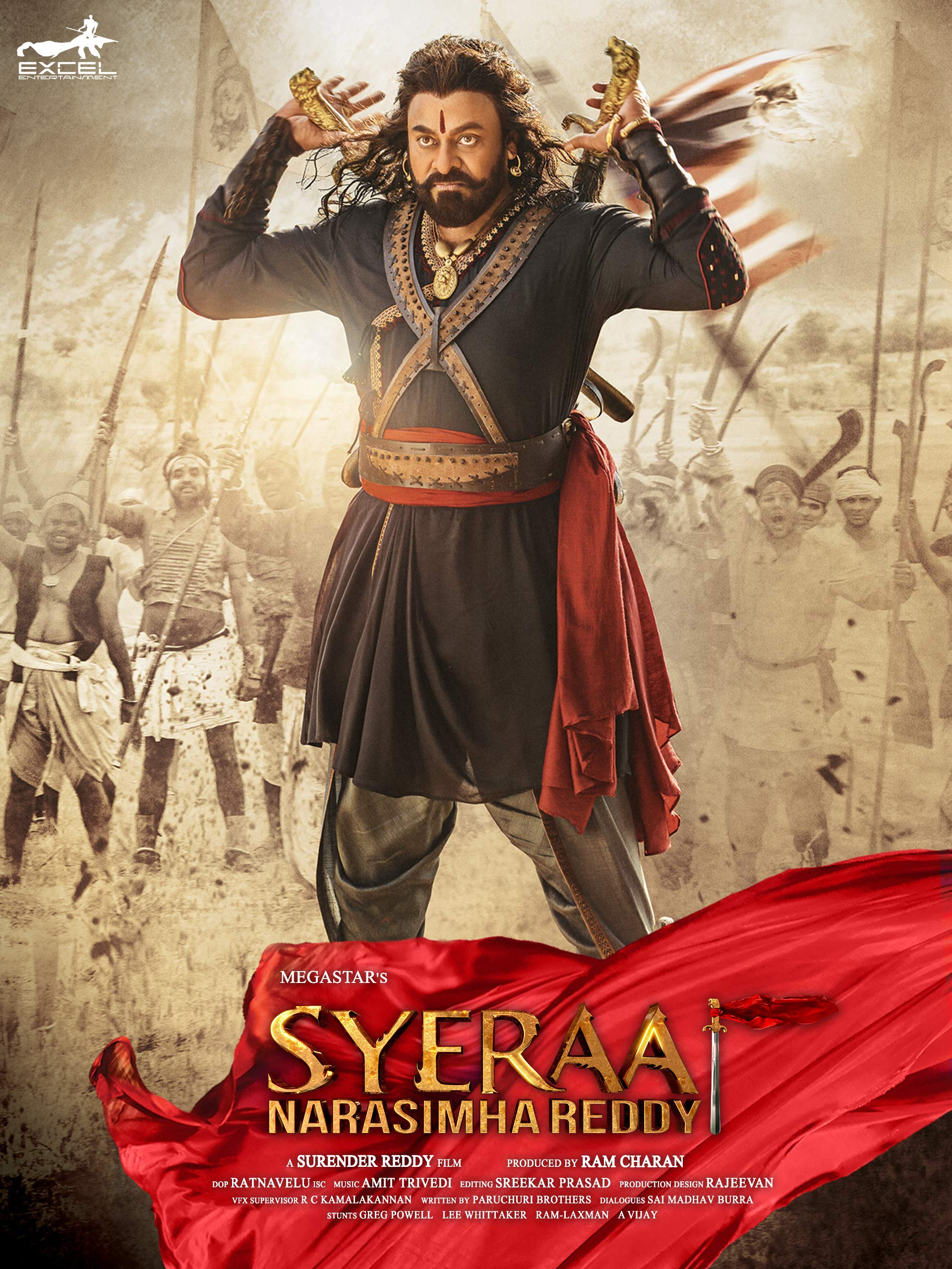 Sye Raa Narasimha Reddy (2020) Hindi WEB-DL 720p x264 1GB Download