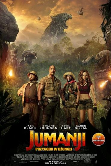 Jumanji: Przygoda w dżungli / Jumanji: Welcome to the Jungle (2017) PL.BRRip.XviD-GR4PE | Lektor PL