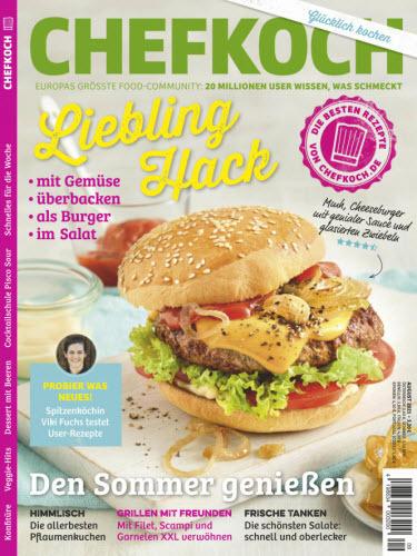 Cover: Chefkoch Magazin No 09 September 2021