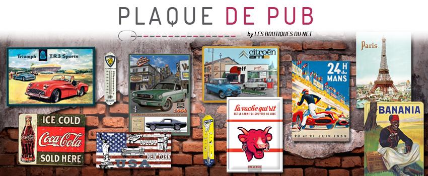 Plaque-de-pub.com : plaques métal décoratives et rétro