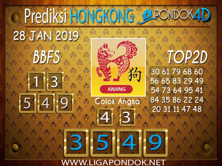 Prediksi Togel HONGKONG PONDOK4D 28 JANUARI 2019