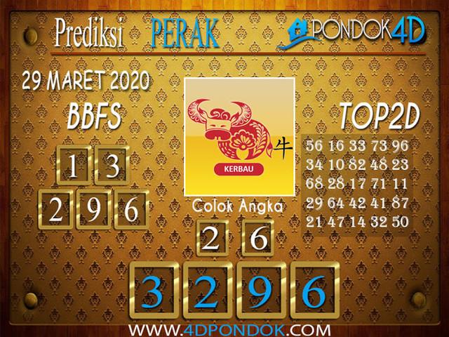 Prediksi Togel PERAK PONDOK4D 29 MARET 2020