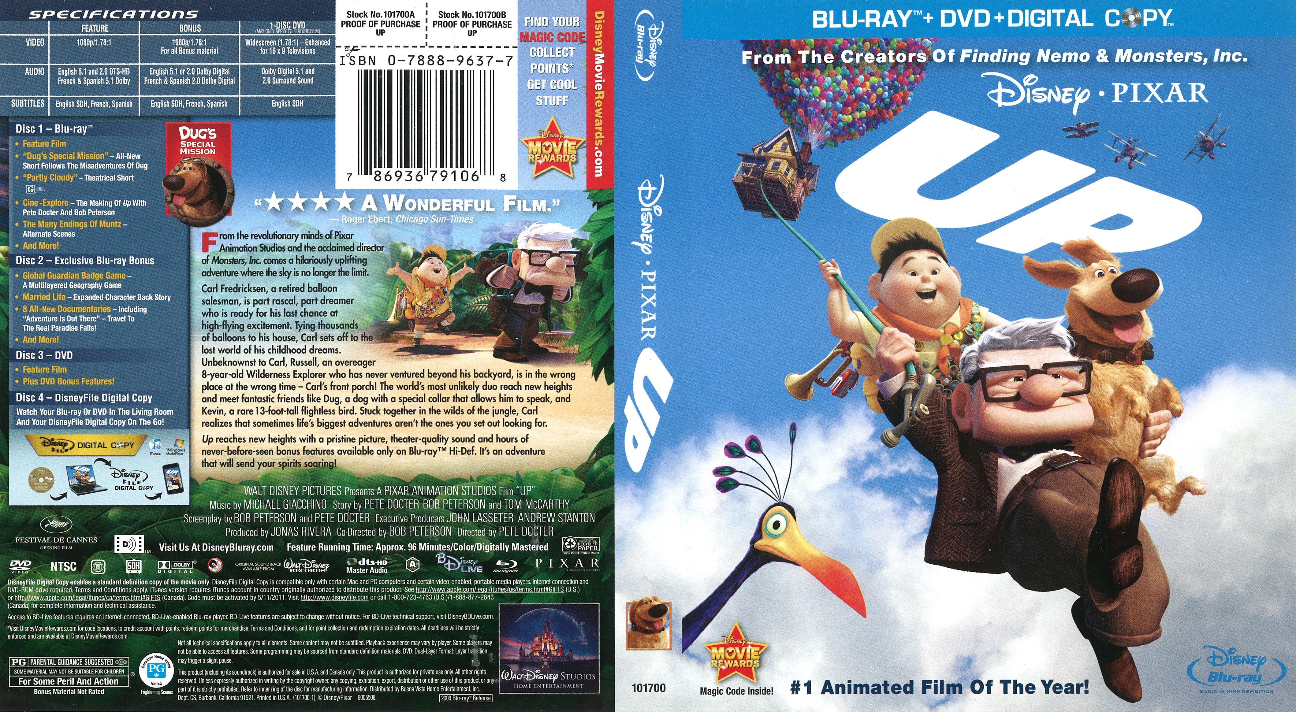 Up: Una Aventura De Altura (2009) x265 10 Bits 1080p