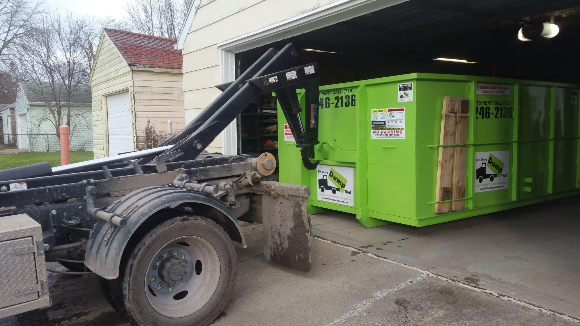 dumpster rental bin there dump that western new york