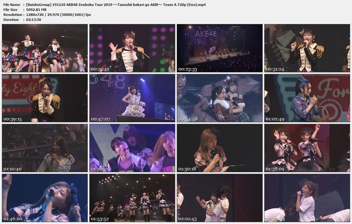 Naisho-Group-191210-AKB48-Zenkoku-Tour-2019-Tanoshii-bakari-ga-AKB-Team-A-720p-Eizo-mp4