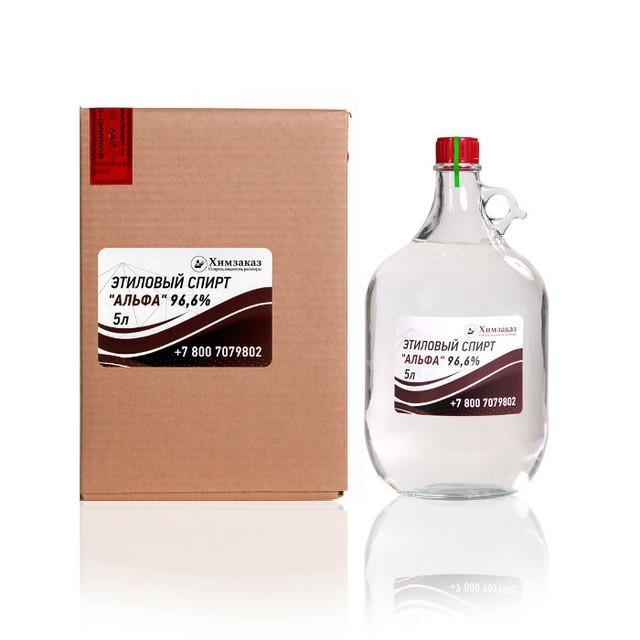 Использование этилового спирта