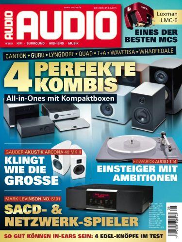 Cover: Audio Magazin No 08 2021