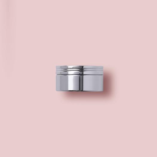 Aluminum Cream Jar.