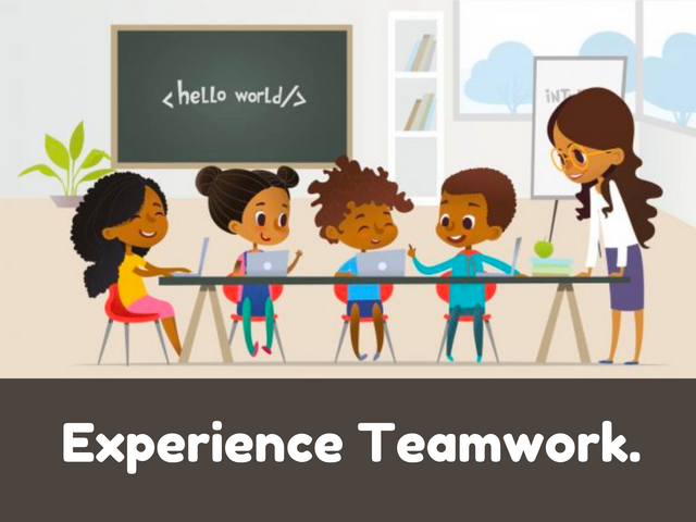 Experience-Teamwork