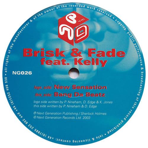 Download Brisk & Fade - New Sensation / Bang Da Beatz mp3