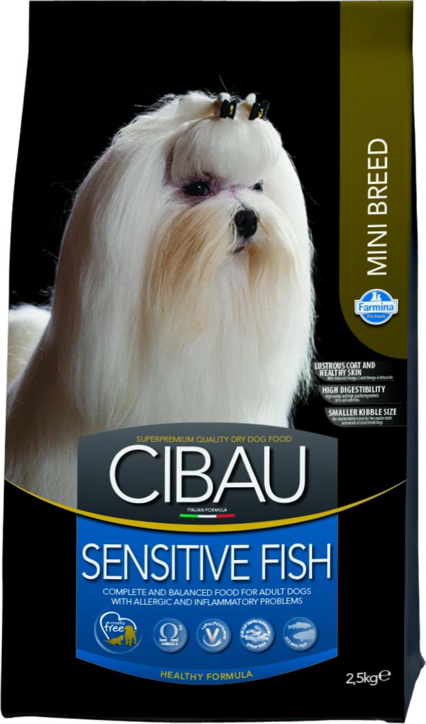 სენსიტივი, თევზით, პატარა ჯიშის ძაღლებისთვის 2,5  კგ    N&D ( Farmina )