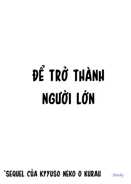 [WondyTrans] Otona Ninaru Chap Oneshot Trang 3
