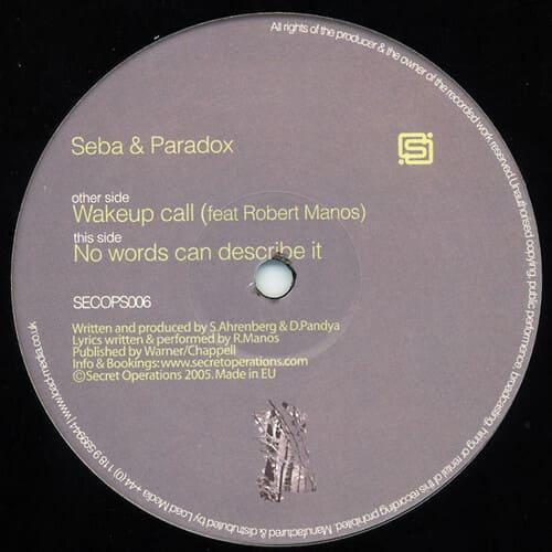 Download Seba & Paradox - Wakeup Call / No Words Can Describe It mp3