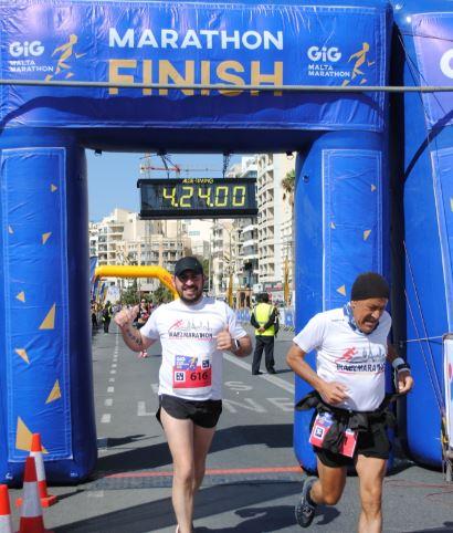 Meta Maratón Malta Travelmarathon.es
