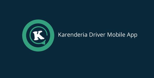 Free download Karenderia Driver Mobile App v8.0