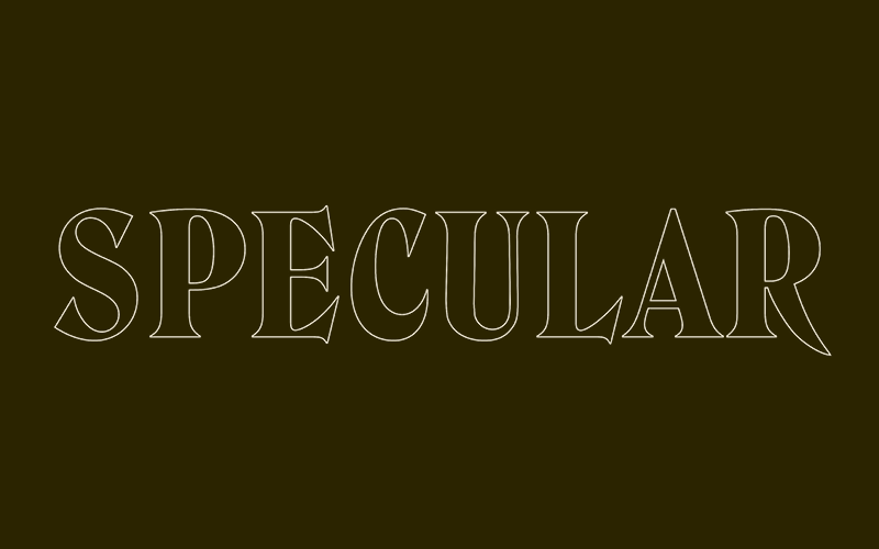Specular-Title