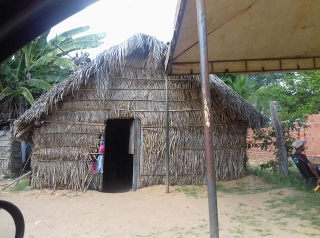Casa onde Guilherme morava com sua família