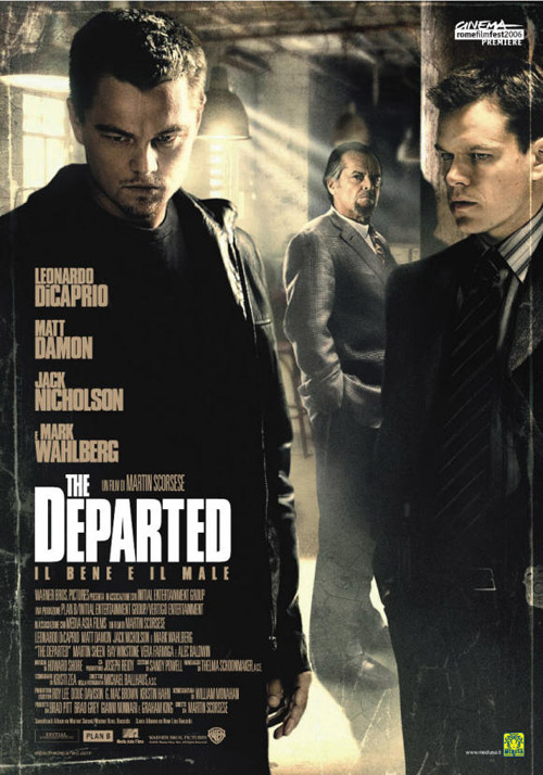 The Departed 2006 Hindi Dual Audio 720p BDRip 900MB ESubs Download