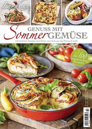 Cover: LandIdee Rezeptreihe Magazin No 47 (Genuss Mit Sommer Gemuse) 2021