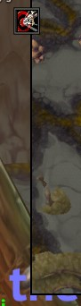 Icon doesn't fade out like the others when I move the mouse away from the minimap