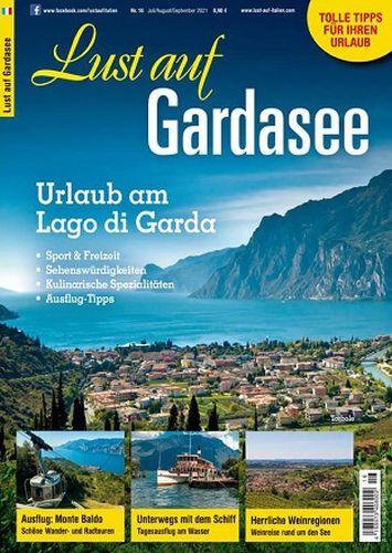 Cover: Lust auf Gardasee Magazin Sonderheft Gardasee No 16 Juli-September 2021