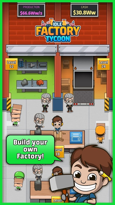 Idle Factory Tycoon (MOD, Unlimited Coins)