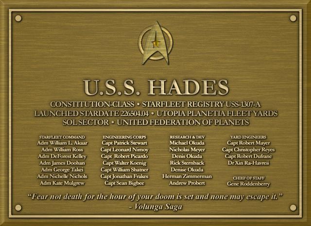Hades-Plaque