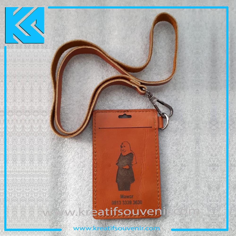 ID Card Holder Kulit - Custom Cheap