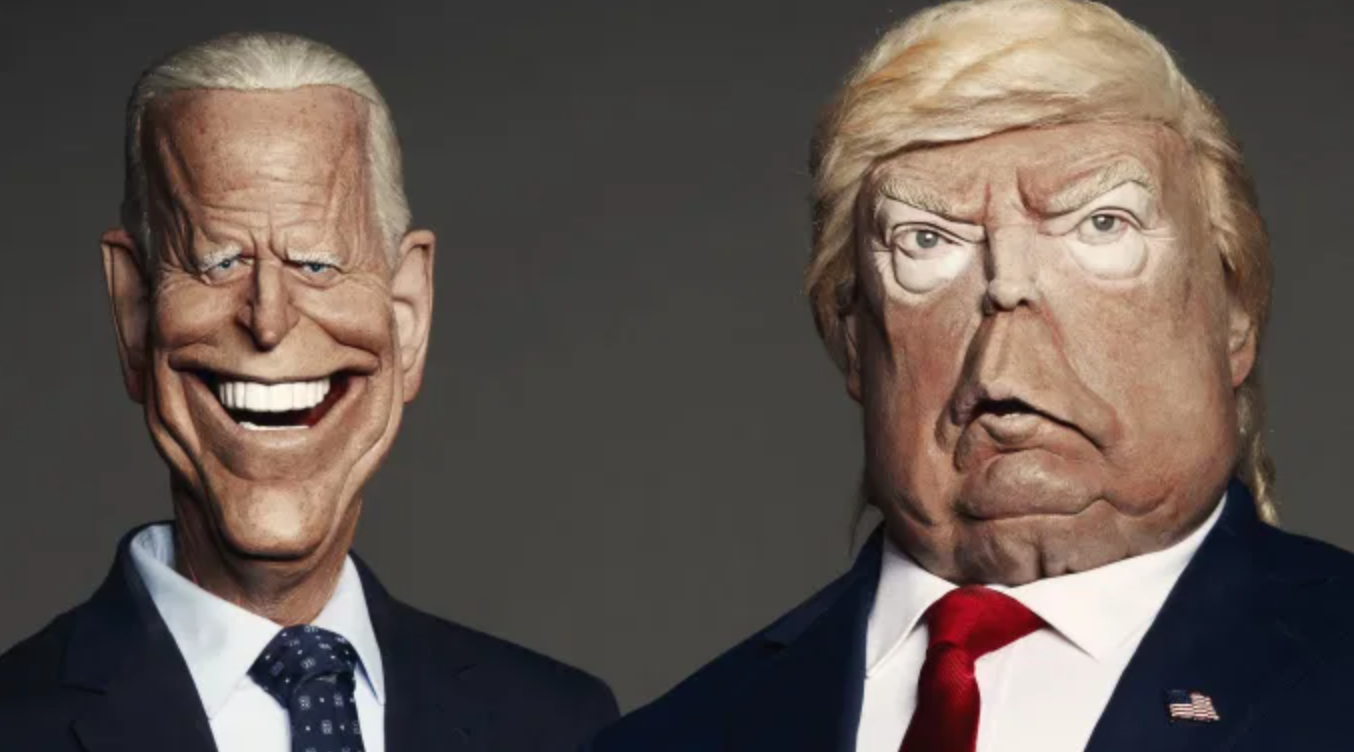 Spitting Image Biden vs Trump