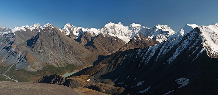 Алтайские горы.