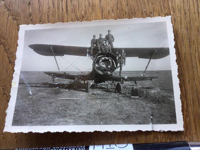 Flugzeug-Luftwaffe-Wehrmacht-seltenes-Original-Foto-57