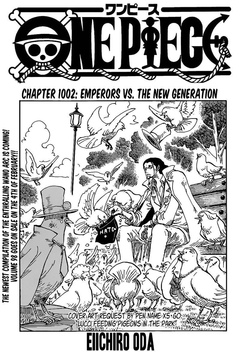 One Piece Manga Chapter 1002 - Img 001
