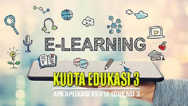 Arti Apa Itu Kuota Aplikasi Edukasi Tri Yang Banyak Untungnya