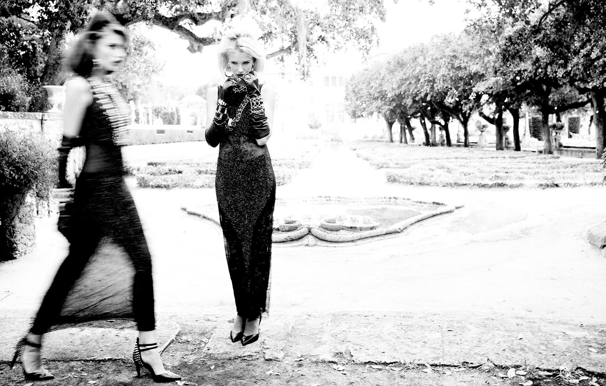 2 девушки во французском замке / фото 08