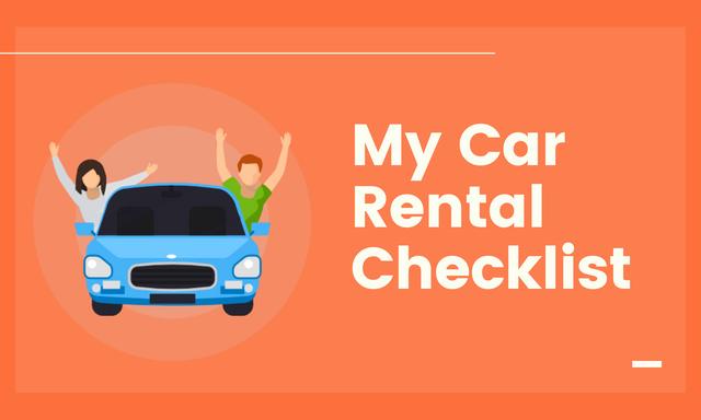 My-Car-Rental-Checklist
