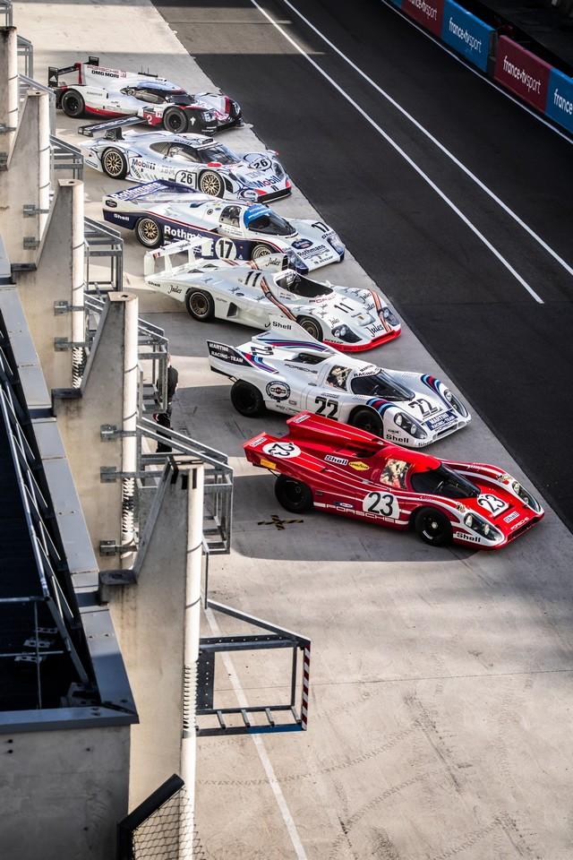 Porsche réuni six prototypes vainqueurs au classement général au Mans S20-4220-fine