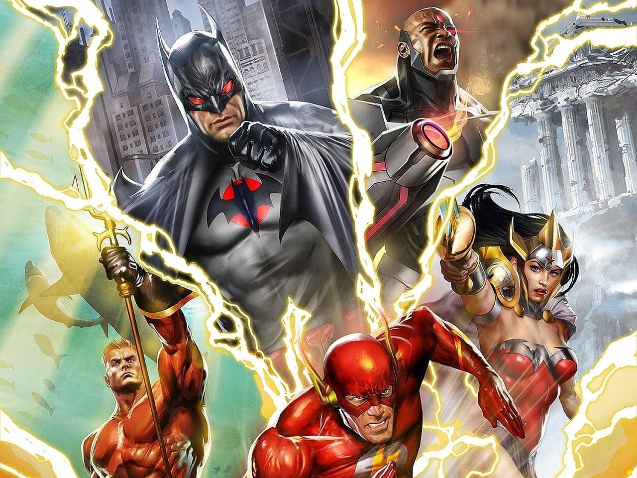 La Liga de la Justicia - Flashpoint Paradox