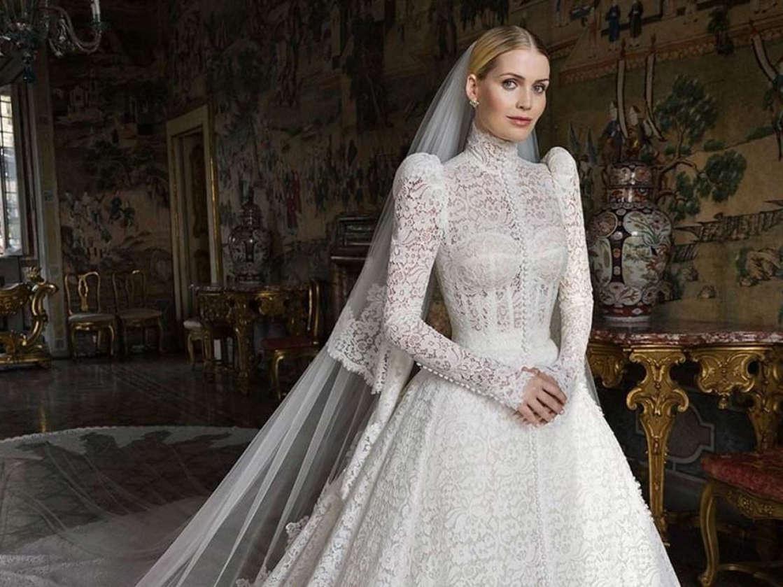 Cinco vestidos y una fiesta con fuegos artificiales: Así fue la boda de la sobrina de Lady Di