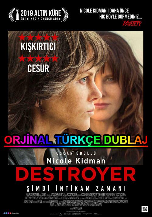 Destroyer: Şimdi İntikam Zamanı | 2019 | BDRip | XviD | Türkçe Dublaj | m720p - m1080p | BluRay | Dual | TR-EN | Tek Link