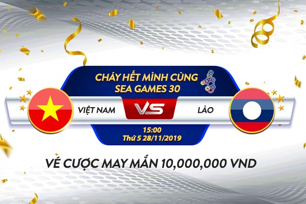 KÈO SÁNG VWIN BÓNG ĐÁ NAM SEA GAME CHIỀU 28.11 600x400-Vietnam-VSLaos